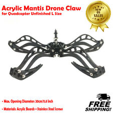 Acrylic Mantis Drone Claw Robot Gripper Hook Grabber Kit for Quadcopter Unfinish