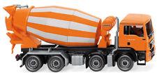 Wiking 068148 Fahrmischer (MAN TGS Euro 6 / Liebherr) - orange 12-2014 Neu + OVP