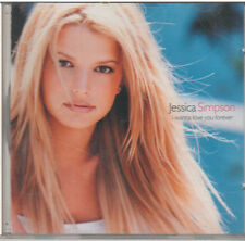 I WANNA LOVE YOU FOREVER Jessica Simpson (CD, 2000, Columbia)