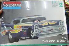 Monogram 2790 Plum Crazy 1957 Chevy Funny Car McM 1/24 KIT  FS