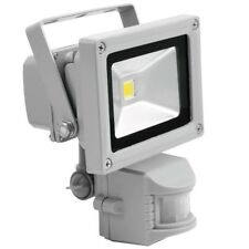 Eurolite LED IP fl-10 cob blanco cálido 550 LM 10w LED reflector detectores de movimiento