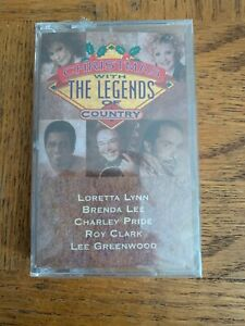 Christmas With The Legends Of Country Cassette