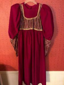 Vintage Ladies Medieval Dress Cosplay Costume Princess Renaissance Gothic Pre-O