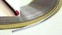 Chrom Zierleiste 1m x 4mm selbstklebend universal Auto Chrom Kontur Leiste