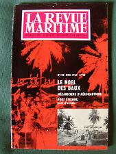 LA REVUE MARITIME no 183 - noel 1961 - Port-Etienne, peche industrielle, islam