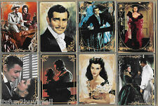 1995 / 96 Hamilton Collection Gone With The Wind Ceramic Cards 14 Set Gold Trim