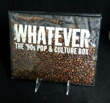 Whatever- The '90s Pop & Culture Box (Cd) 7 discs, 2005, Rhino