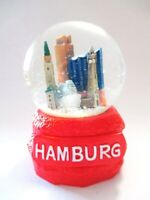 Hamburg Elbphilharmonie Hafen Schneekugel 9,5 cm Souvenir Germany