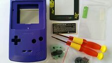 ES- PHONECASEONLINE CARCASA GAMEBOY COLOR PIKACHU PURPLE NUEVA