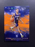2019-20 Nickeil Alexander-Walker Origins Orange /75 #37 Rookie RC Pelicans SP
