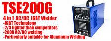 INVERTER IGBT AC/DC TIG/MMA Aluminum Welder & accessories 200A welding machine