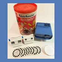 Vintage View Master Theater Projector with Two - 3D View Masters / Pooh / reels
