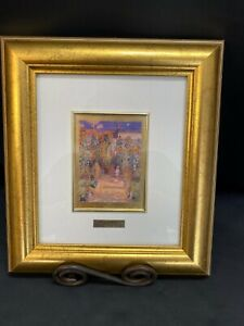 "Original  Claude Monet ""The Artist's Garden at Vetheuil"" 1880 ~ Framed ~ COA"