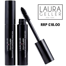 1 x LAURA GELLER - DRAMALASH MAXIMUM VOLUMIZING MASCARA-BLACK 13.5ml RRP £18.00