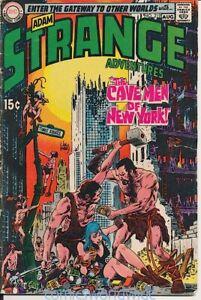 Strange Adventures #219 (1969) VG, Adam Strange, Cave Men of New York