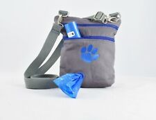 Dog Walker Waste Bag HOLDER Dispenser FREE Poop Bags Pet Gift POTTY Treat Pouch