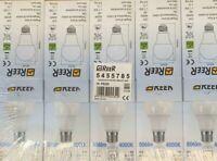 REER 10 PEZZI Lampadina Led a Goccia Luce Neutra 4000K E27 Risparmio Energetico