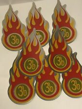 Third Eye Blind Stickers - 8 New 1998 Bonfire Tour Vintage Stickers Oop Rare 3eb