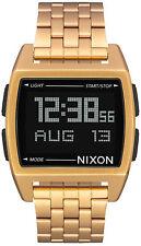 Reloj Hombre Nixon The Base A1107502 de Acero inoxidable Dorado