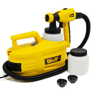 Wolf Paint Sprayer Electric Painting Station Spray Gun 950w for Fences and Walls