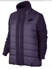 Nike Sportswear NSW SYN Fill AV15 Women's Jacket Coat Padded Purple Small