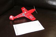 1/48 Carousel 1 WWII BF-109 V-14 GERMANY RACE TEAM AirCraft 7104 Ernst Udet