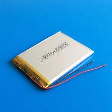 3.7V 2500mAh Li Po Batería de polímero para Teléfono Celular Tablet PC DVD Pad a mediados de 505573