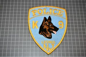 Leonia New Jersey Police K-9 Patch (S03-1)