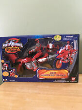 POWER RANGERS ~ Operation Overdrive ~ RED ZORDTEK CYCLE  ~ 2007 NEW!