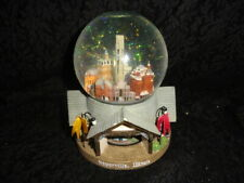 Rare Naperville,Il Musical Snowglobe Plays Somewhere My Love Rotating City Views