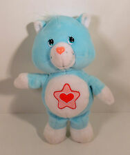 "RARE 2003 Proud Heart Cat 9"" Plush Stuffed Beanie Baby Figure Care Bears Cousin"