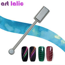 UV GEL Polish Nail Art Magnet Stick Cat Eye Varnish 3d Line Tool Double Head