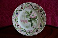 """Wedgewood """"The Flower Artists of Kew"""" Passion Flower China Plate. Collectors Ed."""