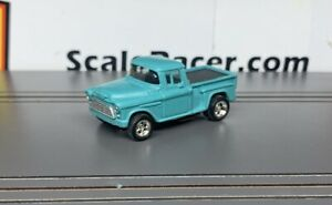 Turquoise '55 Chevy PU #1650 Body(ONLY) for Aurora Dash,AW Tjet type Chassis