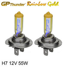 GP Thunder 2500K Rainbow Gold H7 12V 55W Xenon Light Bulbs Pair  (On Sale Now)