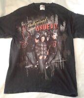 Men's HOLLYWOOD UNDEAD American Rap Metal Graphic Band T-Shirt MEDIUM, RARE