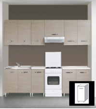 Mobile base da cucina a 1 anta colore: Melanzana Berlenus CP3BA fh2 ...