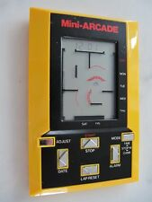 RARE VINTAGE MINI ARCADE POCKET GAME WATCH STOP WATCH LAP TIMER DAY DATE ALARM
