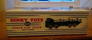 Atlas Editions Dinky Toys 905 Foden Flat Truck With Chains - Sealed