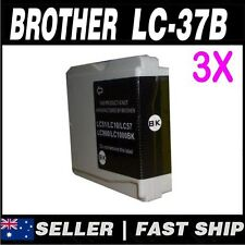 3x Black  Ink for Brother LC37 LC57 MFC440CN MFC465CN MFC5460CN MFC5860CN