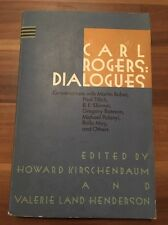 Carl Rogers : Dialogues, Conversation with Martin Buber, Paul  (1989, Paperback)