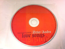 Peter Andre Unconditional Love Songs Music CD Album  2010 - DISC ONLY in Sleeve