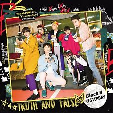 Block B JAPAN 5th Single [YESTERDAY] Type A (CD + DVD) Limited Edition