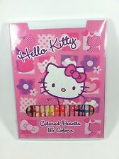 Hello Kitty 16 Colors Colored Pencils by Sanrio