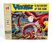 Voyage To The Bottom Of The Sea TV Series 39 Card Game orig. Box David Hedison