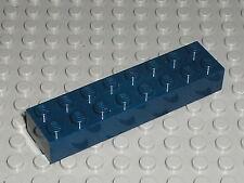 Rare LEGO HARRY POTTER NavyBlue brick 2 x 8 ref 3007 / Set  4762