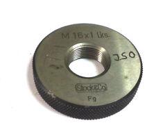 70400160LH  Gewindelehrring  Metrisch M16 6g Gut links