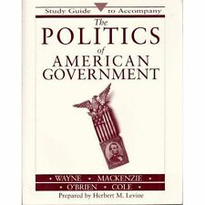 Complete Edition The Politics of American Government (1994, Hardcover)
