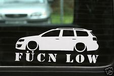 vw Passat R36 /TDi B6 estate Fukn Low car sticker