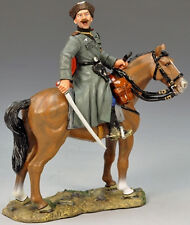 KING & COUNTRY WW2 GERMAN ARMY WS143 MOUNTED COSSACK OFFICER WITH SWORD MIB